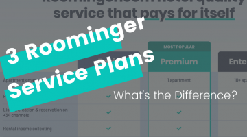 How to Choose the Best Roominger Service Plan for Your Vacation Rental Business?